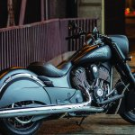 2016 Indian Chief Dark Horse Right Rear Three Quarters