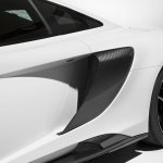 2016 McLaren 675LT press shot side air scoop