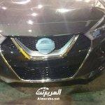 2016 Nissan Maxima front spyshot