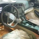 2016 Nissan Maxima interior spyshot