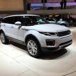2016 Range Rover Evoque leak at the Geneva Motor Show 2015