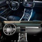 2016 Range Rover Evoque vs 2015 Range Rover Evoque interior
