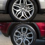 2016 Range Rover Evoque vs 2015 Range Rover Evoque rims