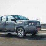 2016 Toyota Hilux front quarter spied