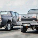 2016 Toyota Hilux rear quarter spied