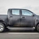 2016 Toyota Hilux side spied