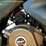 Bajaj Pulsar 200 SS engine spied