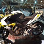 Bajaj Pulsar 200 SS side Motor Fair Turkey