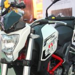 DSK Benelli TNT 250 At India Bike Week 2015 Front 1
