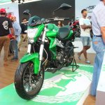 DSK Benelli TNT 300 At India Bike Week 2015 Front Left Three Quarters
