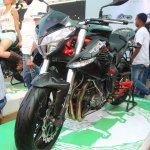 DSK Benelli TNT 899 At India Bike Week 2015 Front Left Three Quarters