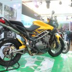 DSK Benelli Trek At India Bike Week 2015 Rear Right Three Quarters