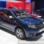 Dacia Logan Special Edition front three quarter view at 2015 Geneva Motow Show