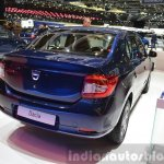 Dacia Logan Special Edition rear three quarter view at 2015 Geneva Motow Show