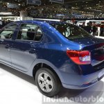 Dacia Logan Special Edition rear three quarter(2) view at 2015 Geneva Motow Show