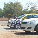 Ford Figo hatchback spied side