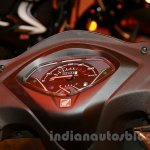 Honda Activa 3G instrument cluster at the launch