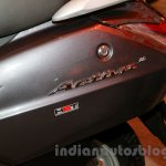 Honda Activa 3G side panel at the launch