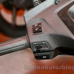Honda Activa 3G switchgear left at the launch