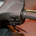 Honda Activa 3G switchgear right at the launch