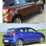 Hyundai i20 Active vs Hyundai Elite i20 rear quarters