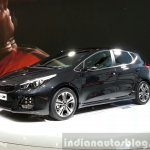 Kia cee'd GT Line front three quarter at the 2015 Geneva Motor Show