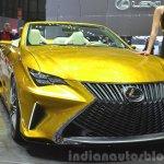 Lexus LF-C2 Concept front three quarter(4) view at 2015 Geneva Motor Show