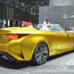 Lexus LF-C2 Concept rear three quarter view at 2015 Geneva Motor Show