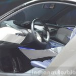 Lexus LF-SA Concept steering at 2015 Geneva Motor Show