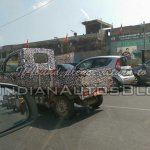 Mahindra P601 rear quarter IAB spied