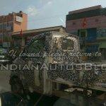 Mahindra P601 side IAB spied