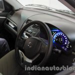 Maruti Swift Range Extender interior at the International Green Mobility Expo