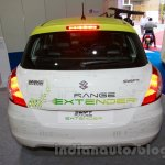 Maruti Swift Range Extender rear at the International Green Mobility Expo