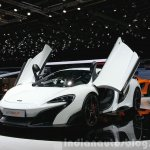 McLaren 675LT fron three quarter(3) view at 2015 Geneva Motor Show
