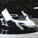 McLaren 675LT front three quarter view at 2015 Geneva Motor Show