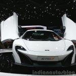McLaren 675LT front view at 2015 Geneva Motor Show