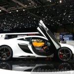 McLaren 675LT side view at 2015 Geneva Motor Show