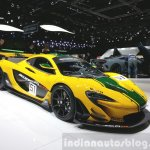 McLaren P1 GTR front three quarter view at 2015 Geneva Motor Show