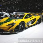 McLaren P1 GTR front three quarter(2) view at 2015 Geneva Motor Show