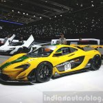 McLaren P1 GTR front three quarter(4) view at 2015 Geneva Motor Show