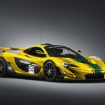 McLaren P1 GTR front three quarters view