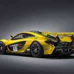 McLaren P1 GTR rear three quarters