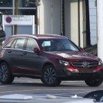 Mercedes GLC front view spyshot