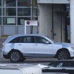 Mercedes GLC side view spyshot