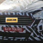 New Ford Figo compact sedan grille spied