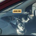New Ford Figo compact sedan interior spied