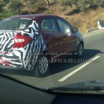 New Ford Figo compact sedan spied India