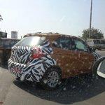 New Ford Figo rear quarters India spied