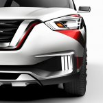 Nissan Kicks Samba concept headlight