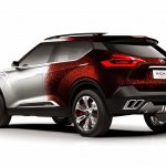 Nissan Kicks Samba concept rear quarter